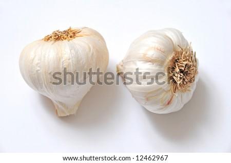 spicy garlic - stock photo