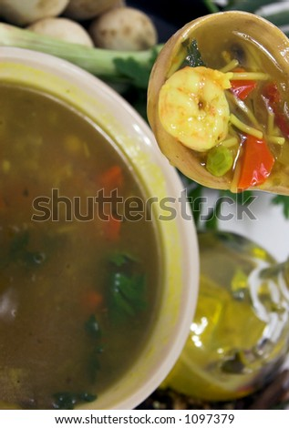 spicy oriental soup
