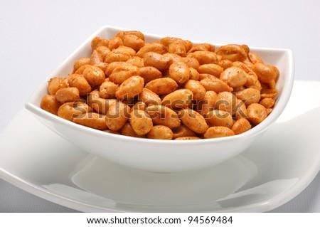 Spicy Peanuts im-8 - stock photo