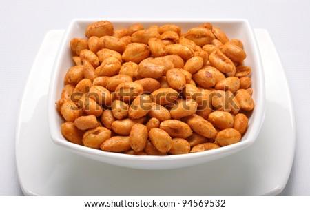 Spicy Peanuts im-2 - stock photo