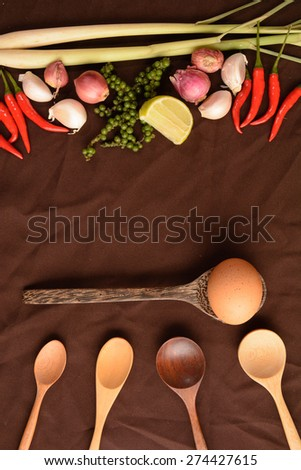 Spicy spices - stock photo