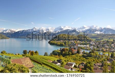 Spiez, Switzerland - stock photo