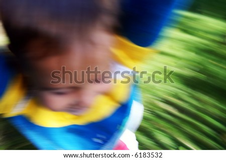 spinning - stock photo