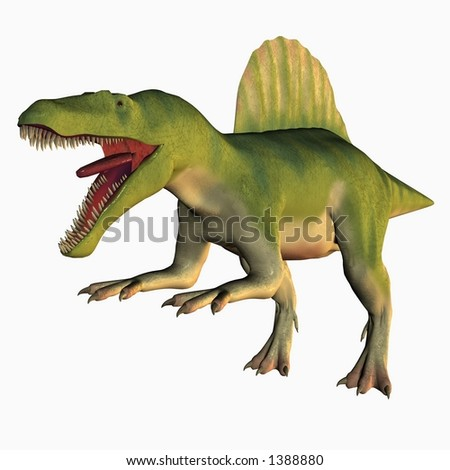 Spinosaurus Stock Illustration 1388880 - Shutterstock