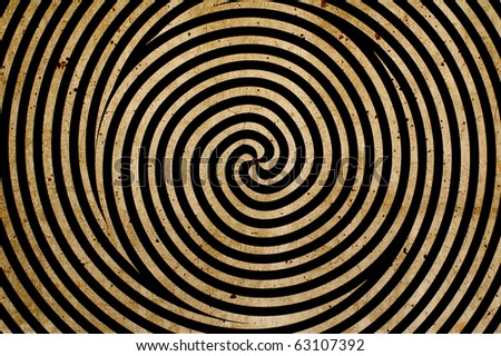 spiral background - stock photo
