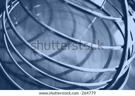 spiral background - blue