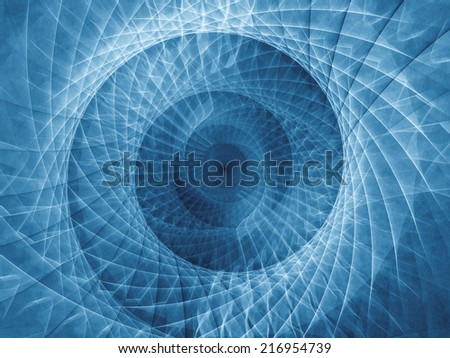 Spiral series. Spiral backdrop for use in projects on math, science and computer art.