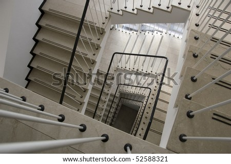 Spiral Staircase in Office