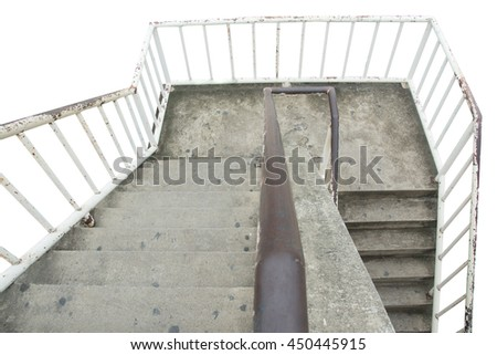 Spiral staircase overpass,staircase