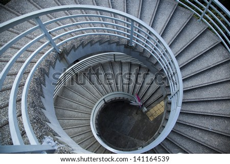 Spiral Stairs of a bridge