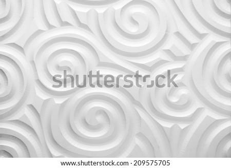 spiral wallpaper - stock photo