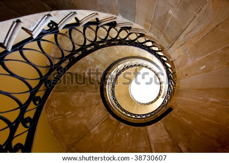 Spirals - stock photo