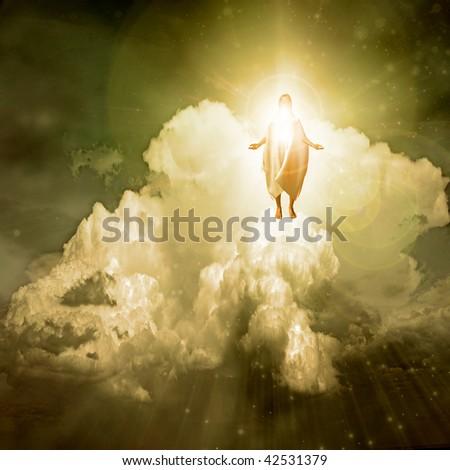 Spiritual Light - stock photo