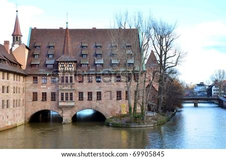 Spital Nuremberg - stock photo
