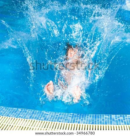 splash - stock photo