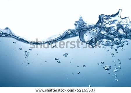 Splashing - stock photo