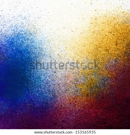 Splatter paint background - stock photo