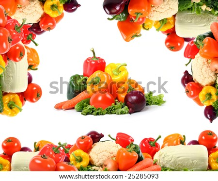 splendid vegetable composition high quality