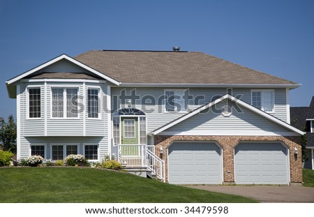 Split Level House Stock Photos Images Pictures