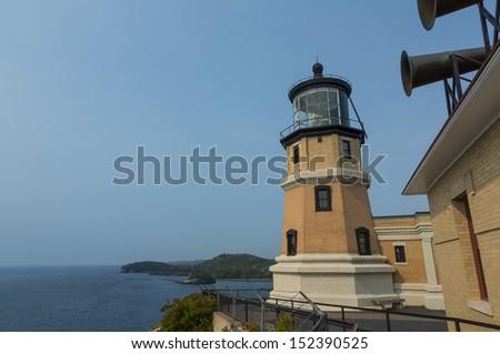 Split Rock Lighthouse - stock photo