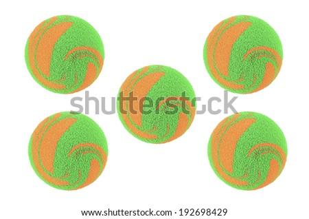 sponge balls - stock photo