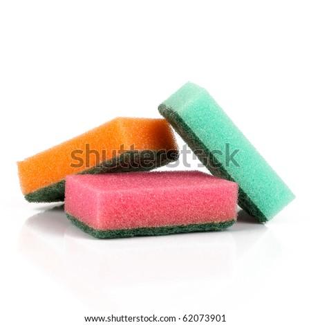 Sponge dish - stock photo