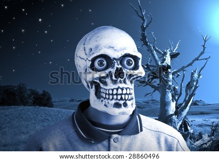 spooky - stock photo