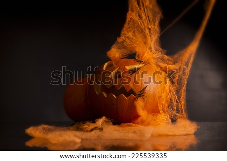 spooky and creepy horror, halloween - stock photo