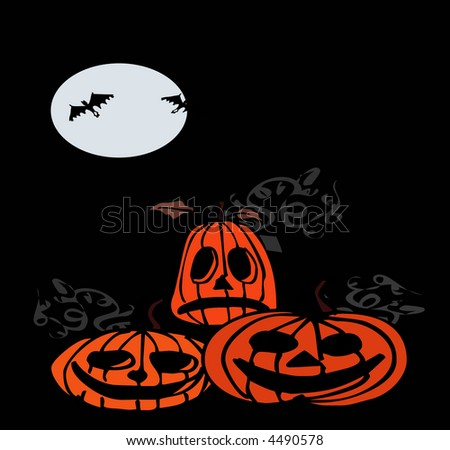 spooky Halloween backgrounds for various uses