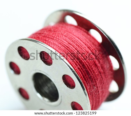 spool of thread - stock photo
