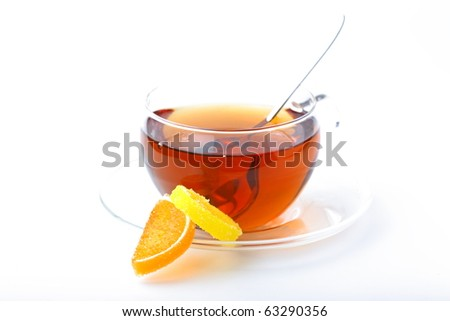 Spoon, cup of tea, sugar