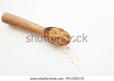 Spoonful of cumin powder