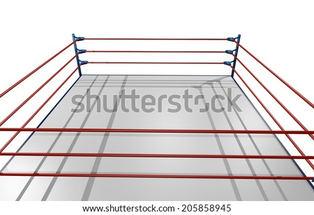 Sport arena wrestling - stock photo