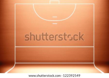 Sport background for studio photographers. - stock photo