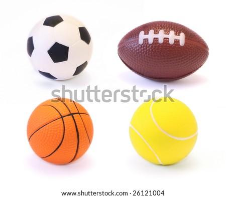 Sport Balls - stock photo