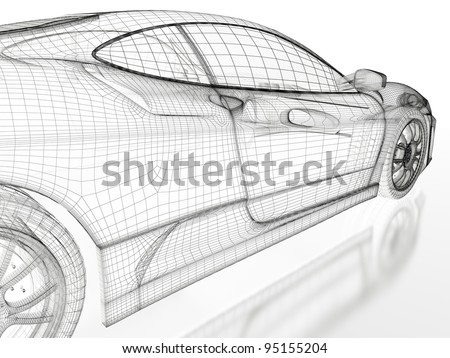 Car Blueprint Stock Images, Royalty-Free Images & Vectors ...