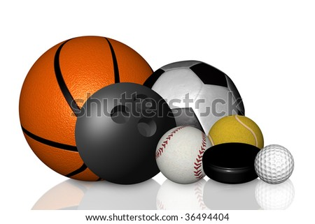 sport collection - stock photo