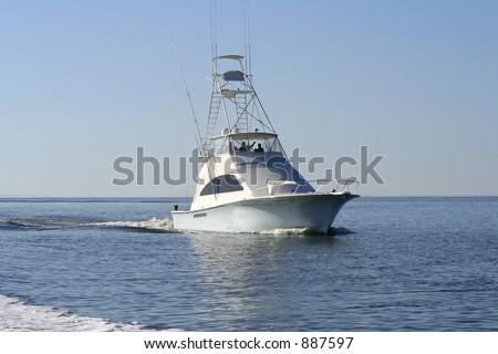 Sport Fishing Boat - stock photo
