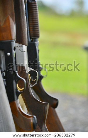 Sport guns  - stock photo