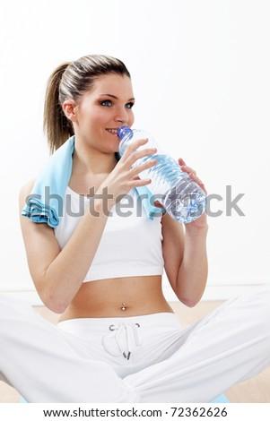 sport hydration - stock photo