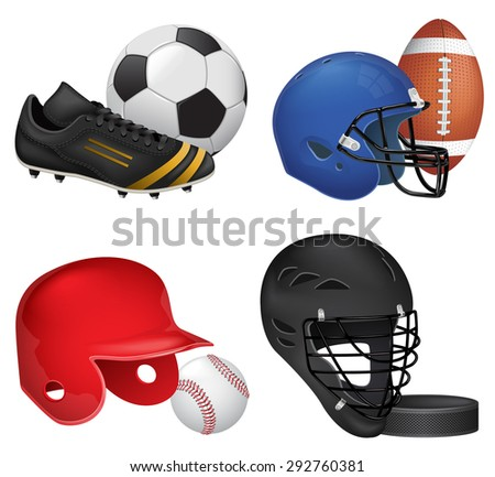 Sport Icons Set - stock photo