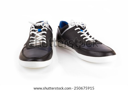 Sport shoe isolated on white background