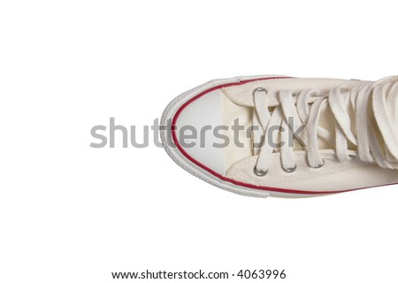 Sport shoe isolated on white background - stock photo