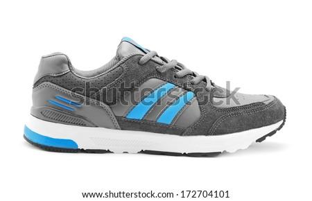 sport shoe on white background - stock photo