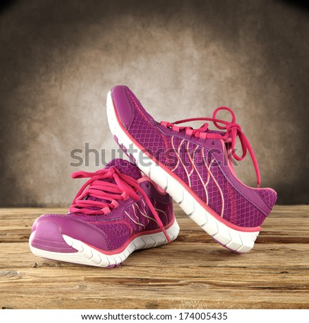 sport shoes  - stock photo