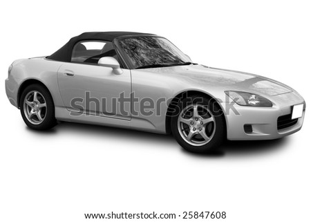 Sports Car - stock photo
