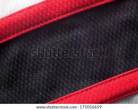 Sports jersey background - stock photo