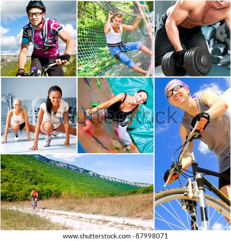 Sports  lifestyle concept - stock photo