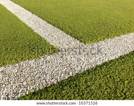 Sports Lines - stock photo