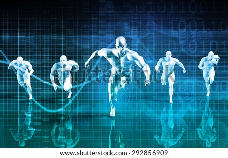 Sports Management and Coaching Science as a Career - stock photo